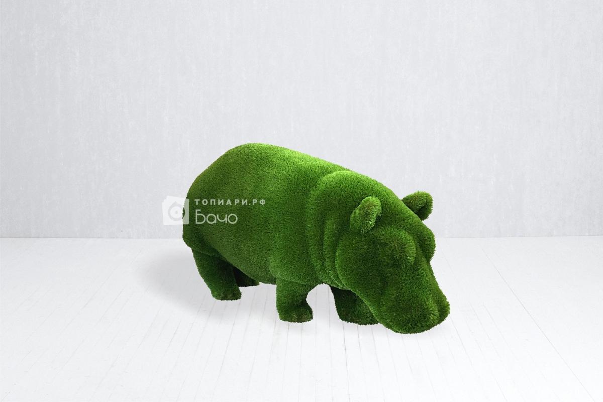 Топиарная фигура бегемот малый