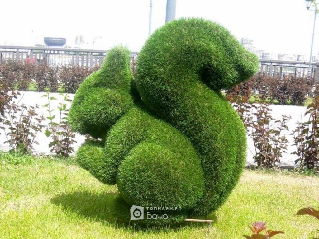 Садовая фигура Белка