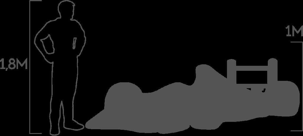 пропорции болид