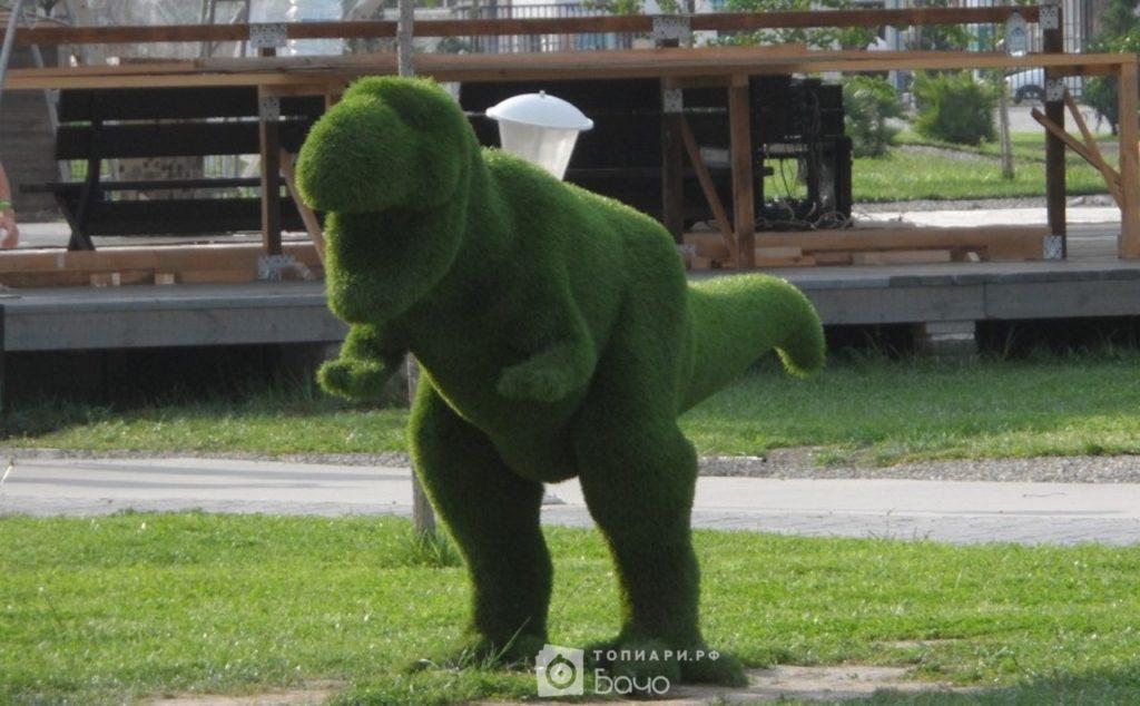 Топиарная фигура Тираннозавр