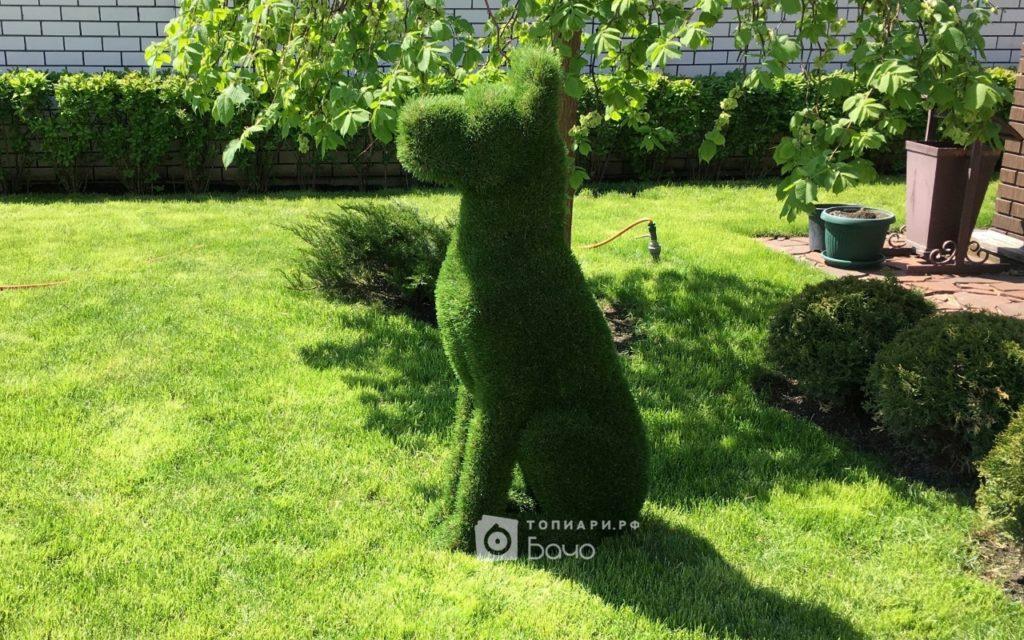 Садовая фигура Дог