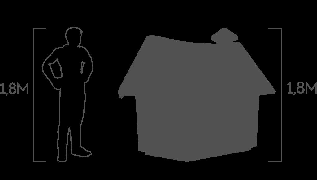пропорции домик гнома