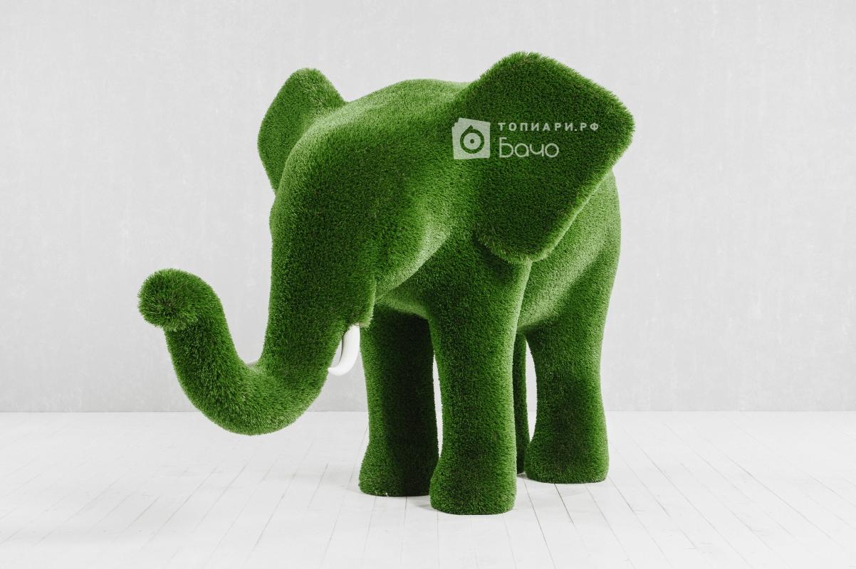 Топиарная фигура слон средний