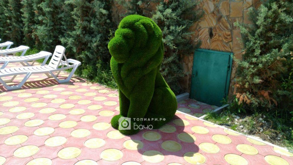 Садовая фигура Лев малый
