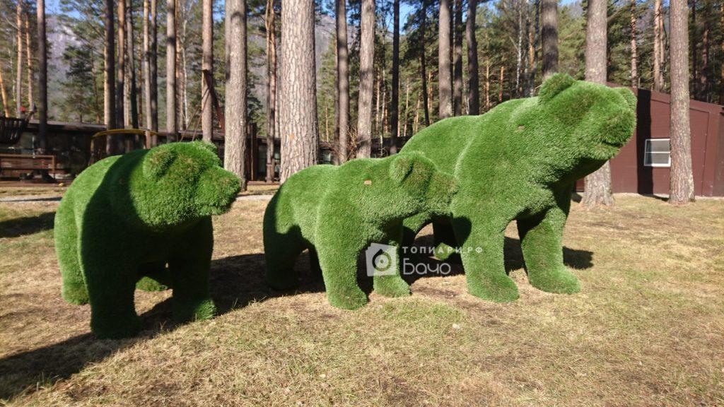 Садовая фигура Медведь малый