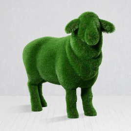 Топиарная фигура овечка