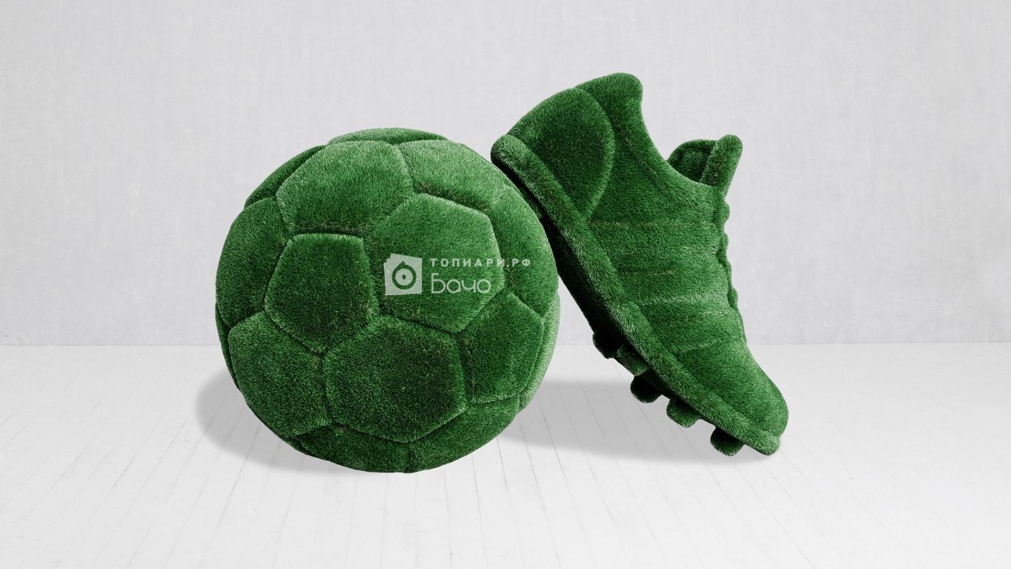 ландшафтная фигура мяч