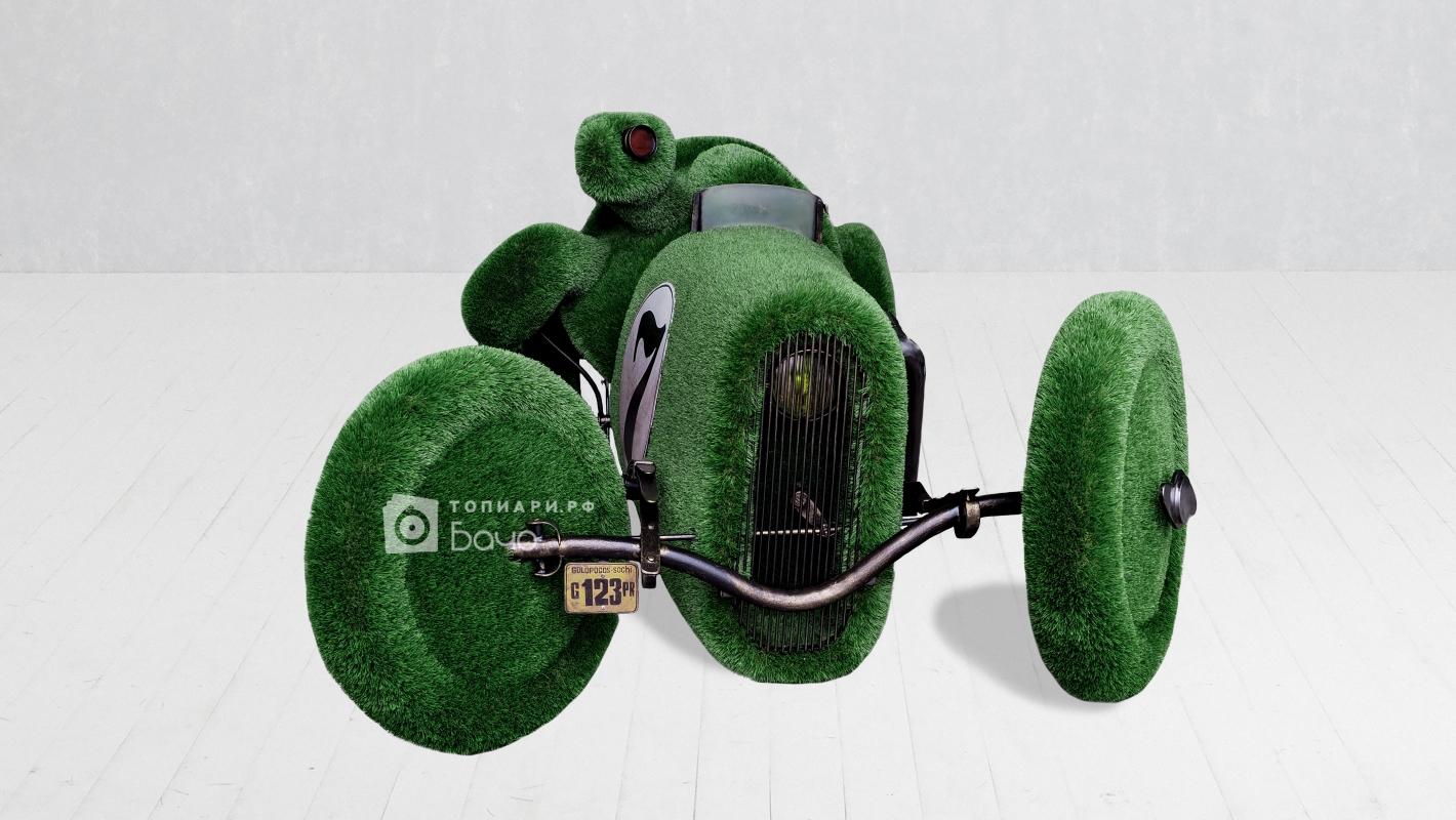 Ландшафтная фигура черепаха гонщик