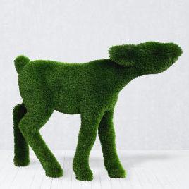 Садовая фигура оленёнок