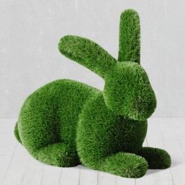 Садовая фигура Кроликк