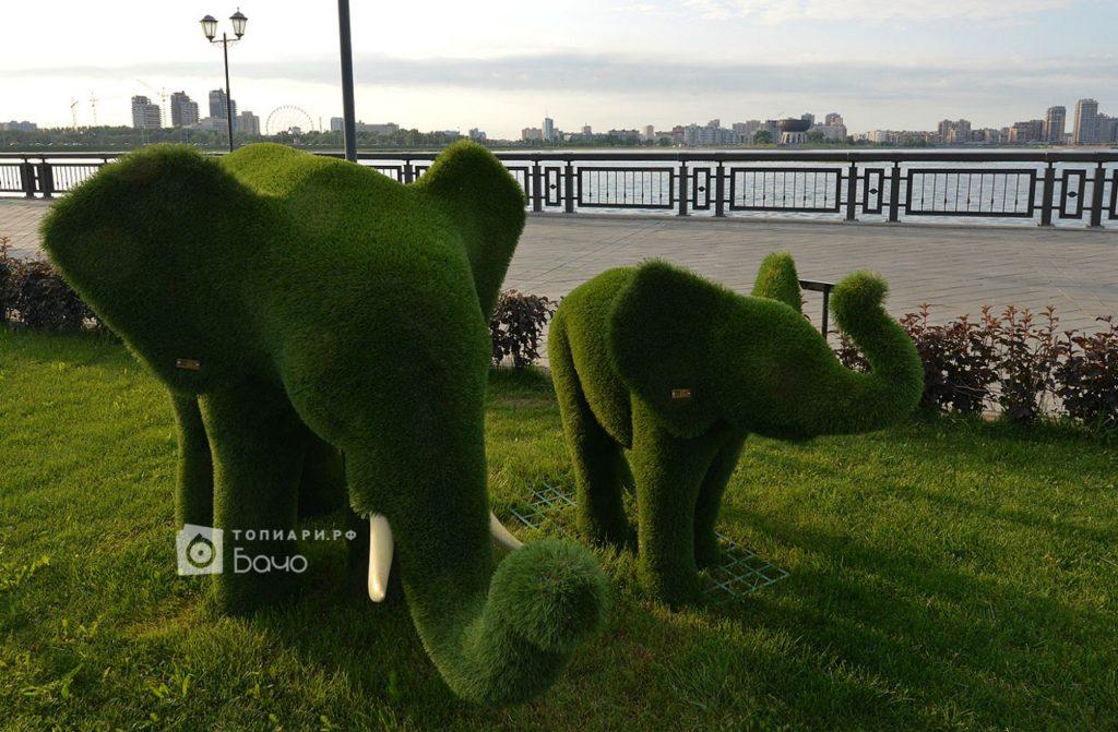 Тоиарная фигура слон средний