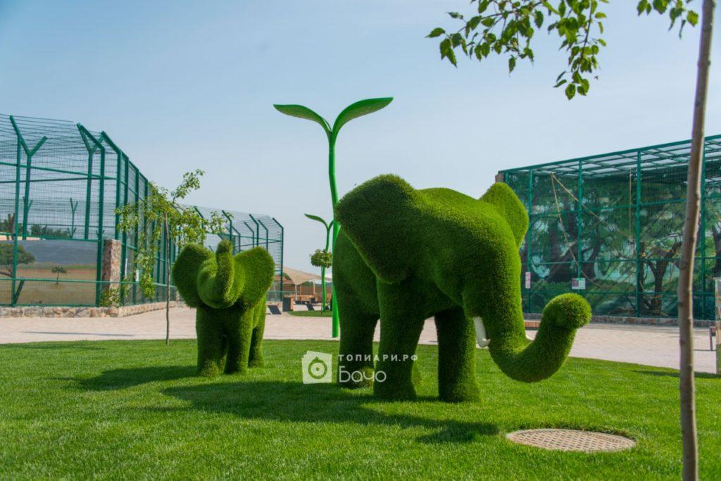 Топиарная фигура слон средний 5