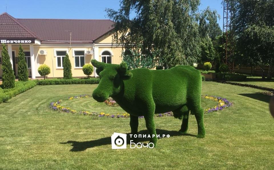 Ландшафтная фигура Корова