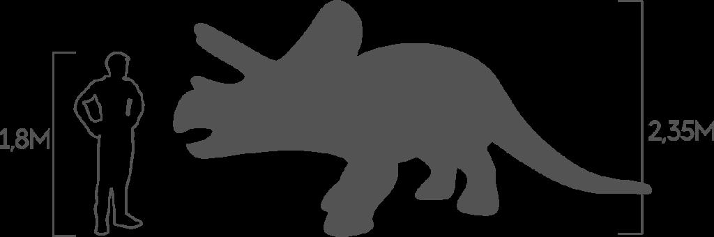 пропорции трицератопс