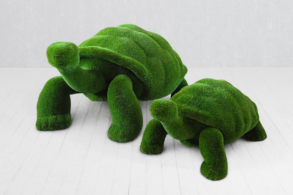 Топиари Черепахи Композиция