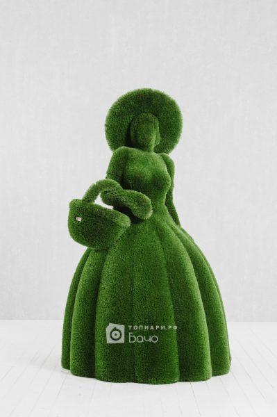 Ландшафтная фигура Дама с корзиной