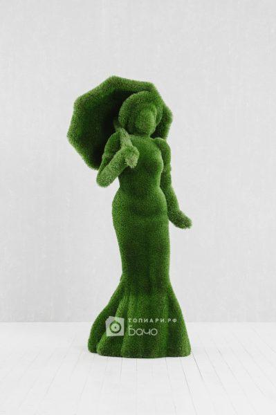 Ландшафтная фигура Дама с зонтом