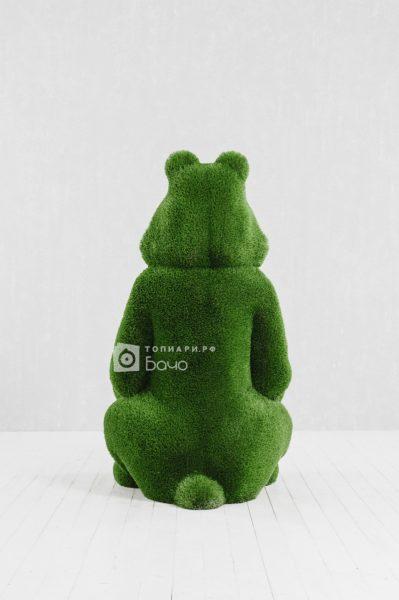 Топиарная фигура Медведь с корзиной 5
