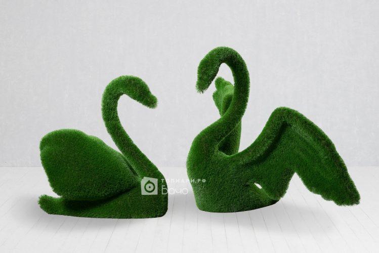 Топиарная композиция лебеди