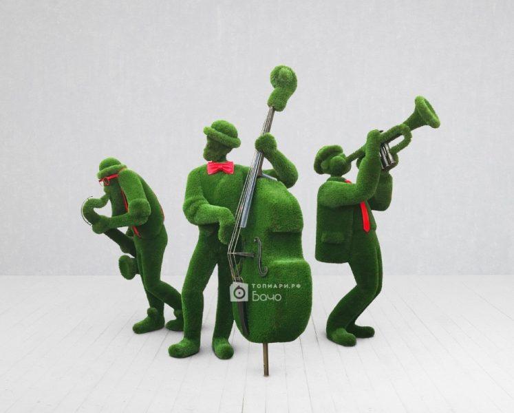 Зелёные музыканты
